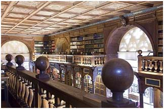 Oxford University - Duke Humfrey's library