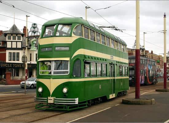 Old Blackpool Tram
