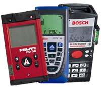 Laser Measures - Hilti Disto Bosch