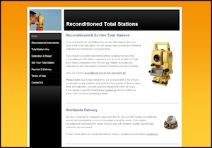Recondtioned Total Stations