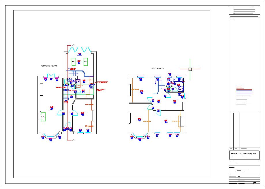 Floor Plans created using Sitemaster Building
