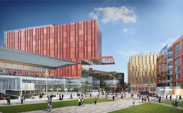 Wates Construction Awarded A 25m Contract To Build A New Arts Centre In Manchester The Uk