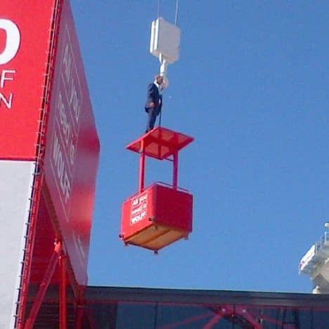 Man on crane 2