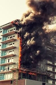 WES site fire (Medium)